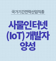 사물인터넷(IoT) 개발자 양성